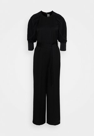CONTRAST SLEEVE - Jumpsuit - black