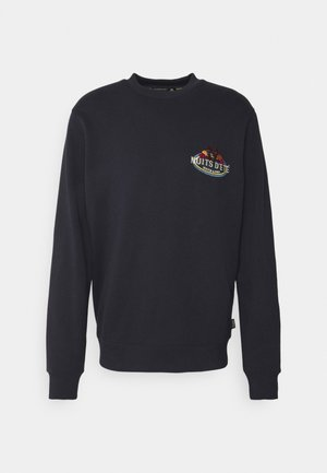 FELPA LOGO CREWNECK - Mikina - night