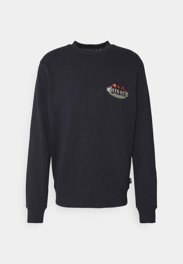 FELPA LOGO CREWNECK - Sweatshirt - night