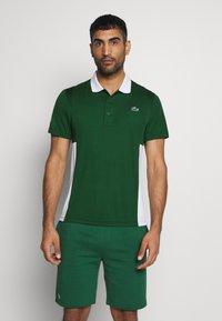 Lacoste Sport - TENINS  - Sports shirt - green - 0