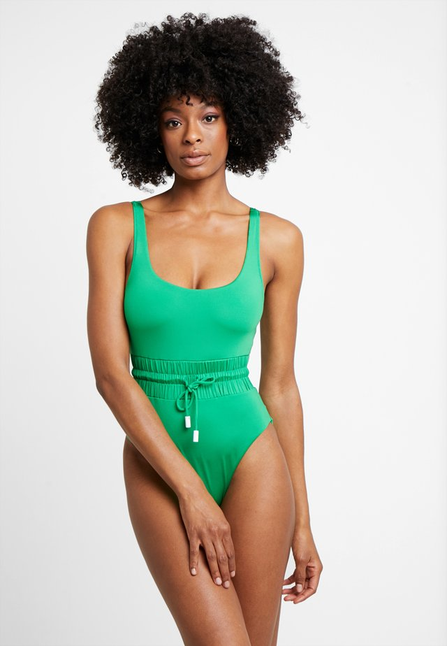 TRACK SWIMSUIT - Plavky - green