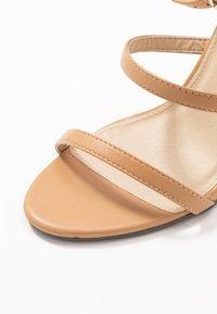 4th & Reckless - JULES - Sandaler med høye hæler - nude - 2