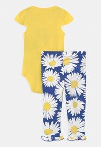 Carter's - SET - Print T-shirt - yellow/blue - 1