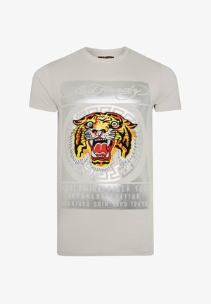 TILE-ROAR T-SHIRT - Print T-shirt - white