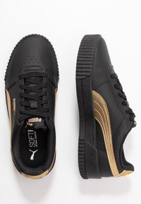 Puma - CARINA META20 - Sneaker low - black/team gold - 3
