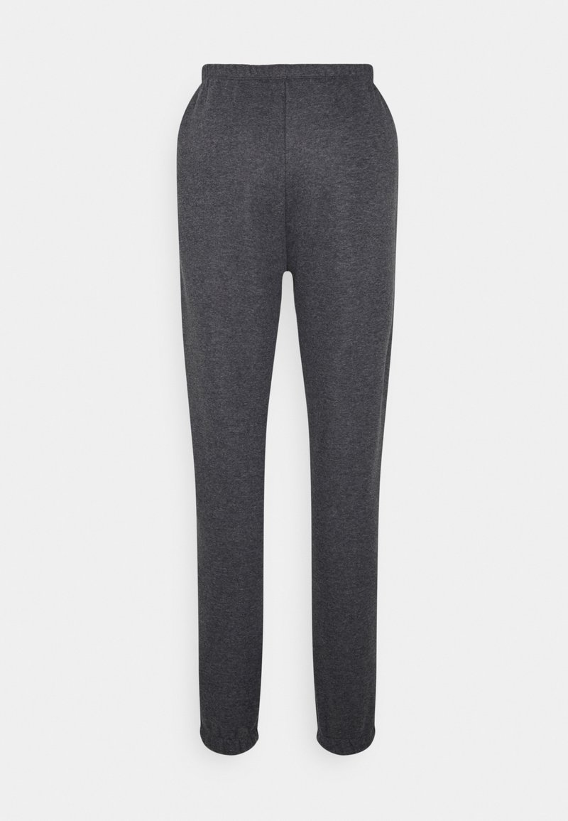 Nly by Nelly - COZY PANTS - Tracksuit bottoms - off-black melange