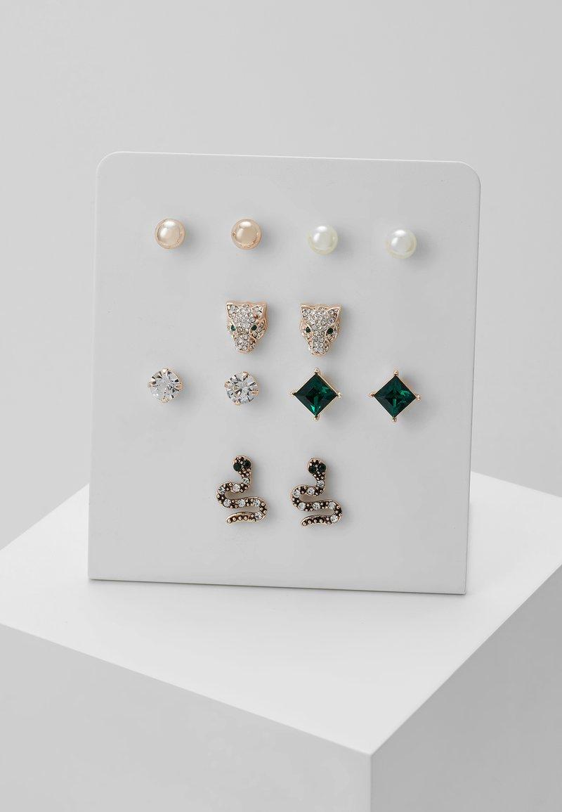 ALDO - LAREANNA 6 PACK - Earrings - medium green