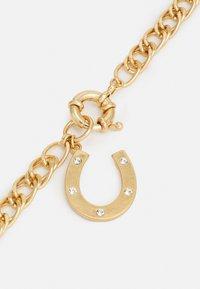 Uncommon Souls - HORSESHOE PENDANT NECKALCE UNISEX - Necklace - gold-coloured - 2
