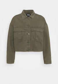 Dr.Denim Plus - NEVADA JACKET - Denim jacket - dark emerald - 5