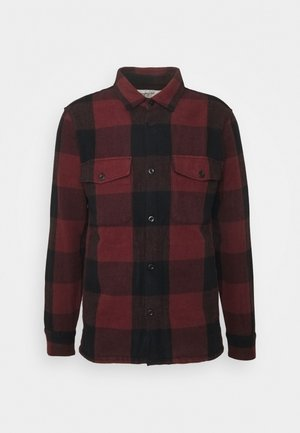 PLAID - Giacca leggera - dark red