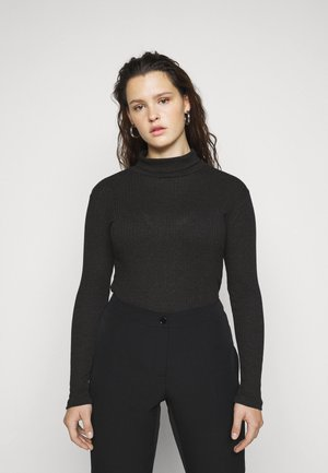 PCRAYLY ROLLNECK  - Jumper - black