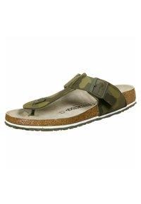 Birkenstock - MEDINA - Slippers - camo green - 2
