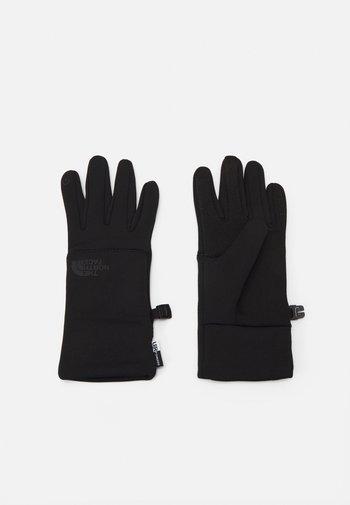 ETIP RECYCLED GLOVE - Gloves - black