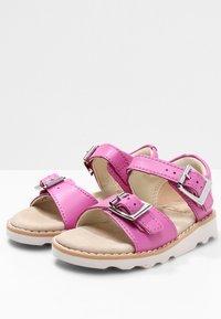 Clarks - CROWN BLOOM  - Sandals - pink - 2