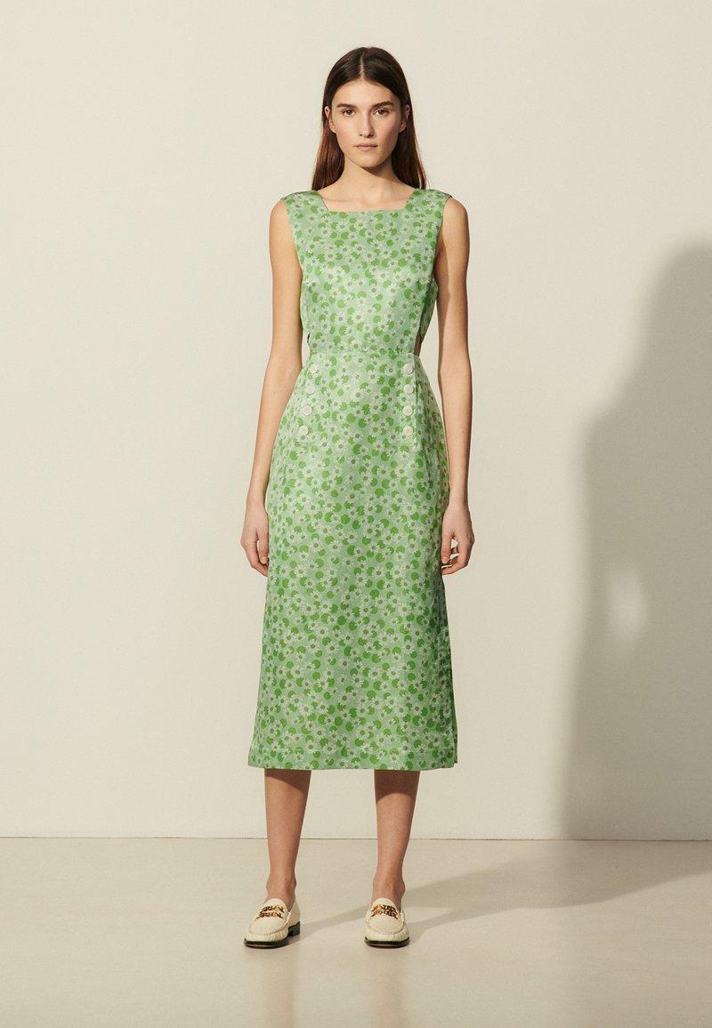 sandro - ASHLEY - Day dress - vert