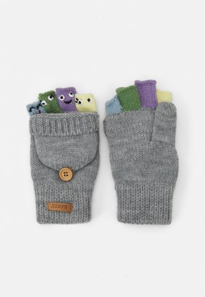 PUPPET BUMGLOVES UNISEX - Gloves - hether grey