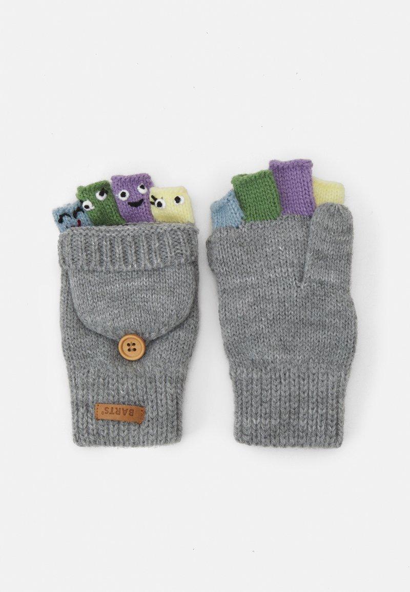 Barts - PUPPET BUMGLOVES UNISEX - Gloves - hether grey