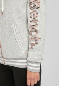 Bench - Zip-up sweatshirt - grau-meliert - 4