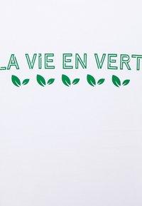 Les Petits Basics - LA VIE UNISEX - Print T-shirt - white - 2