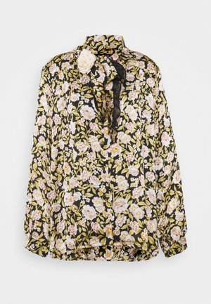 BELLE CORSAGE BOW BLOUSE - Button-down blouse - multi