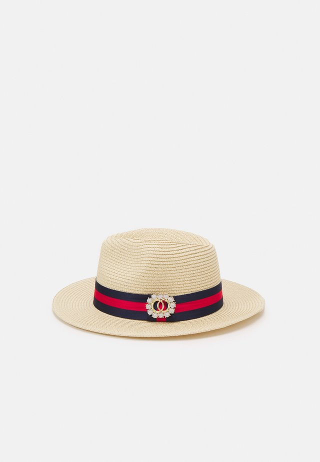 VARDOMA - Chapeau - light natural/navy/red