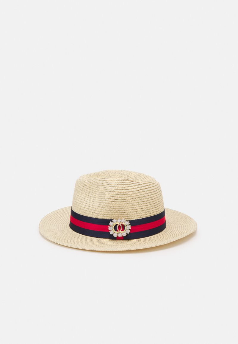 ALDO - VARDOMA - Hat - light natural/navy/red