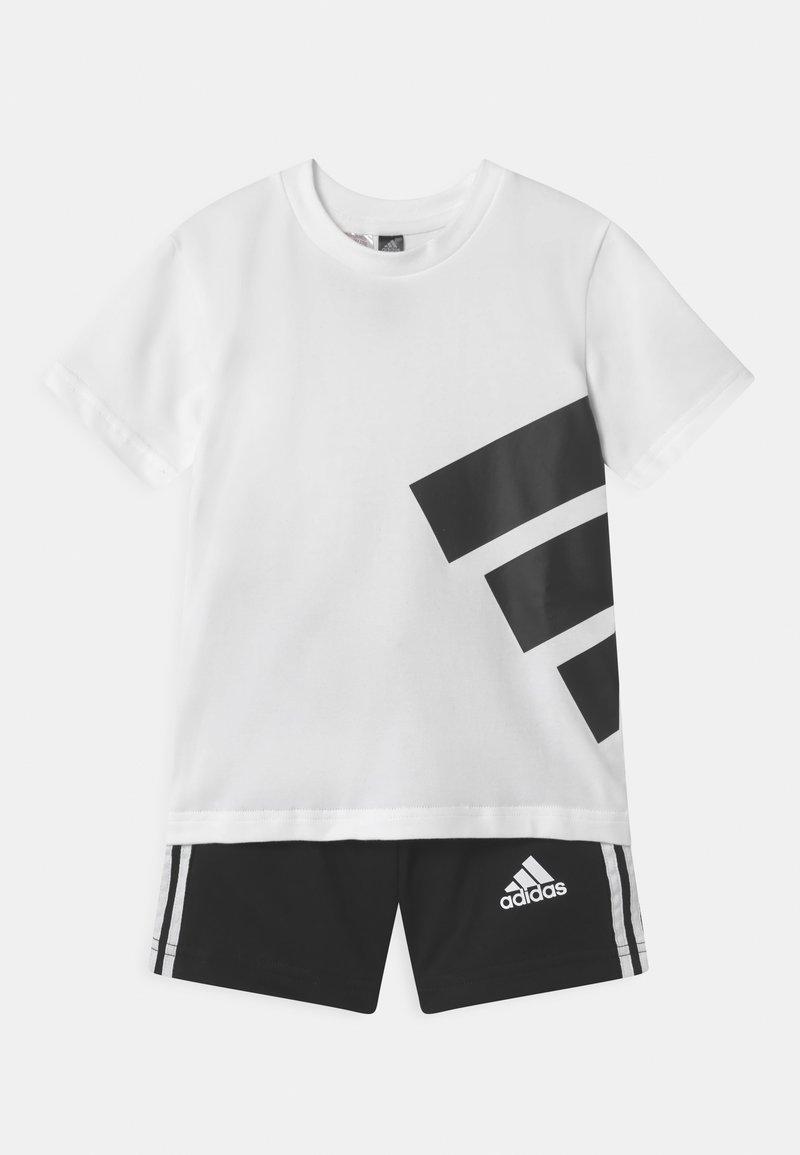 adidas Performance - BRAND SET UNISEX - Sports shorts - white/black