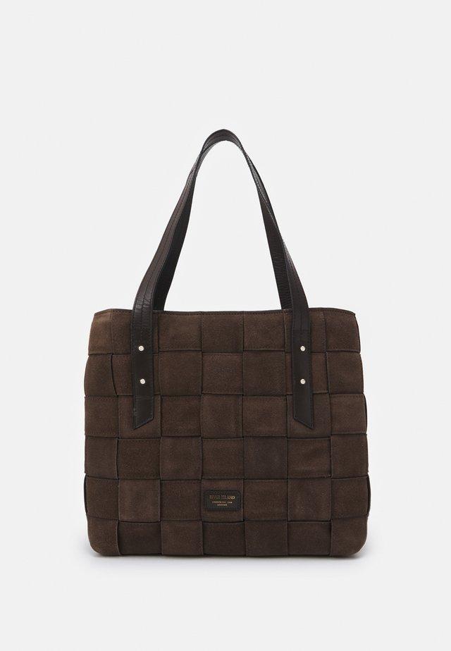 Velká kabelka - chocolate