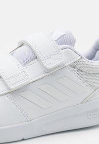 adidas Performance - TENSAUR UNISEX - Sports shoes - footwear white/grey two - 5