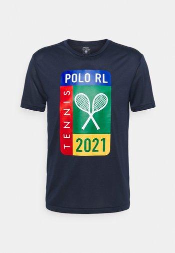 PERFORMANCE - T-shirt imprimé - french navy