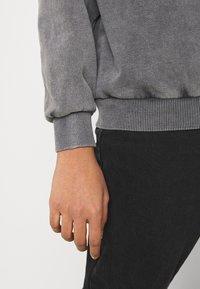 Even&Odd - Printed Oversized Sweatshirt - Sweatshirt - dark grey - 5