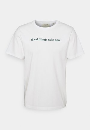 TIME DEEP FOREST - Print T-shirt - white