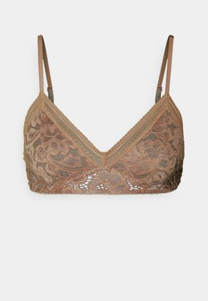 MAALIKA BRA - Triangle bra - camel brown