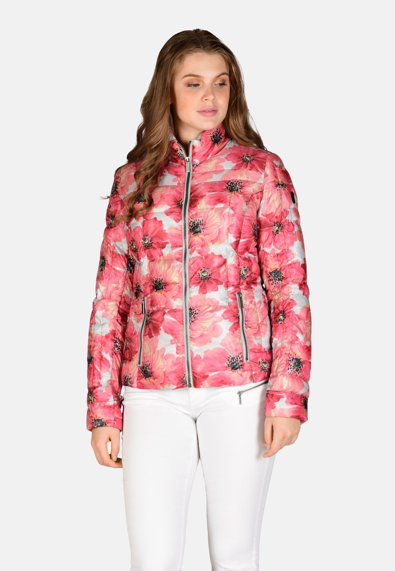 Cero & Etage - Winter jacket - pink flower
