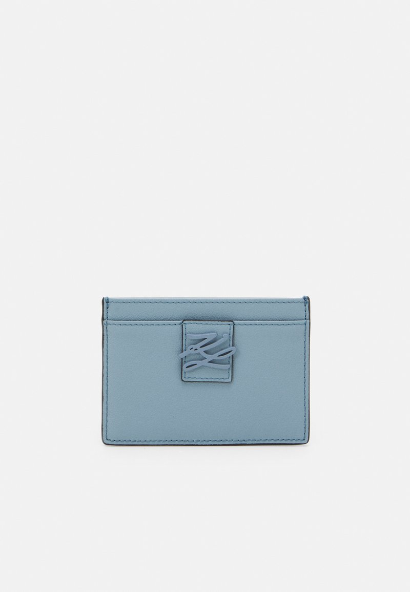 KARL LAGERFELD - AUTOGRAPH FOLD - Wallet - smoked blue