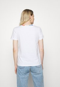 edc by Esprit - BLOCK - Print T-shirt - white - 2