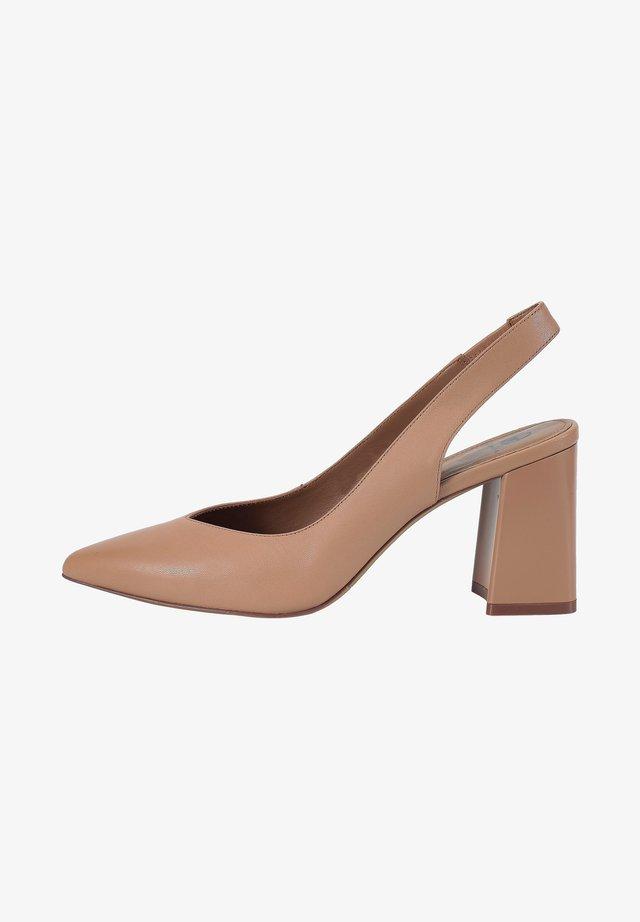 Classic heels - tawny