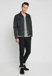 Gabba - PISA Small Dot - Trousers - black - 1