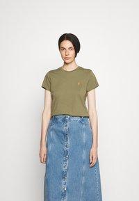 Polo Ralph Lauren - Basic T-shirt - basic olive - 0