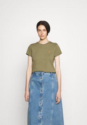 T-shirts - basic olive
