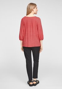 s.Oliver - Blouse - true red embroidery - 2