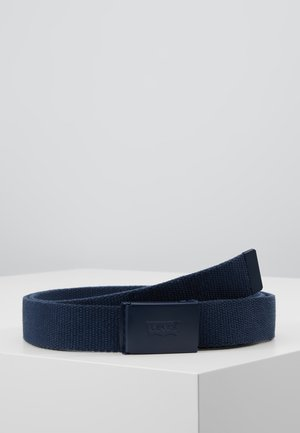 TONAL WEB BELT UNISEX - Belt - navy blue