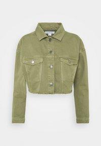 CATRINA - Denim jacket - khaki