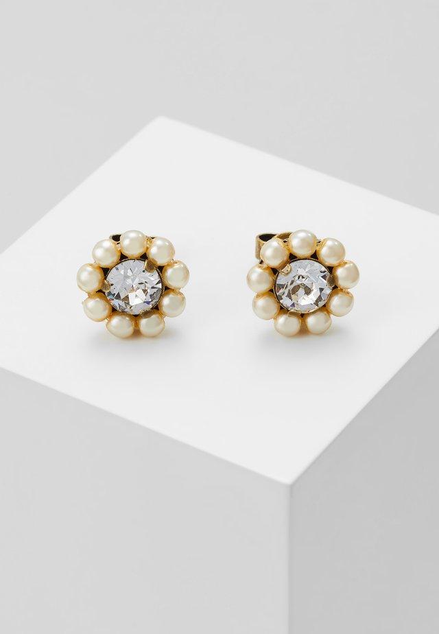 KALEIDOSCOPE ILLUSION - Earrings - white