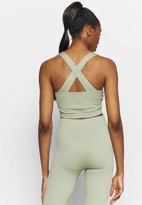 South Beach - NECK CROSS BACK - Toppi - dessert sage - 2