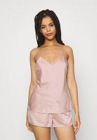 Anna Field - SIMPLE  SHORT SET - Pyjama set - pink - 0
