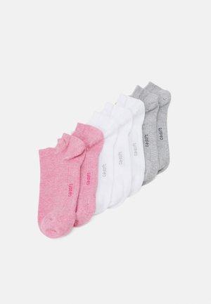 ONLINE SNEAKER 7 PACK UNISEX - Socks - pink melange