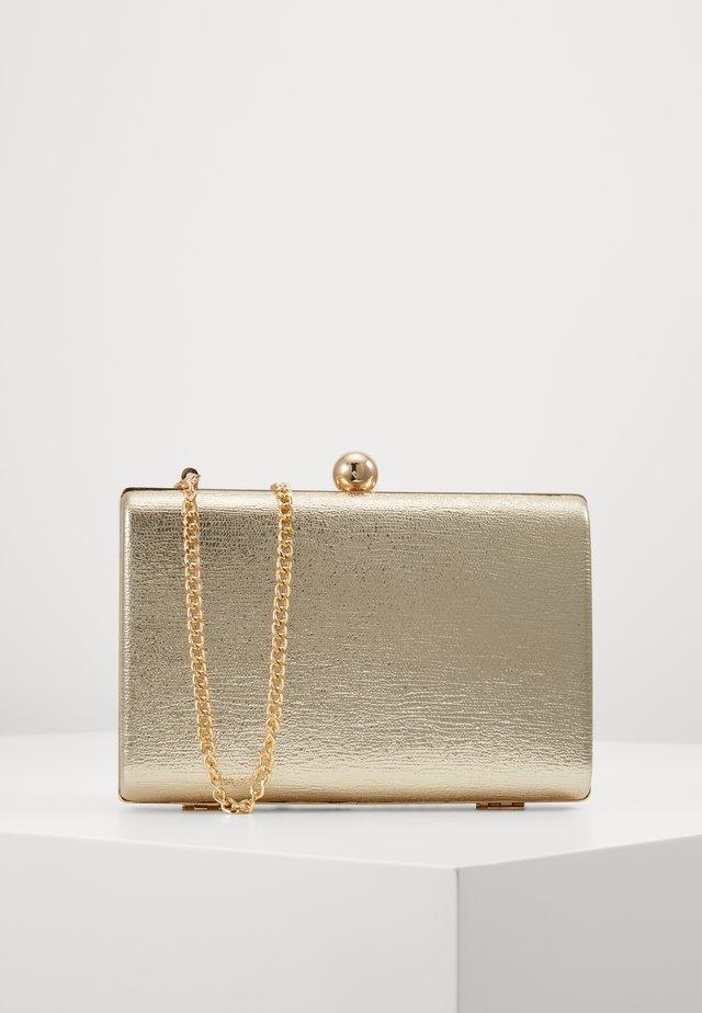 BOX - Clutch - gold