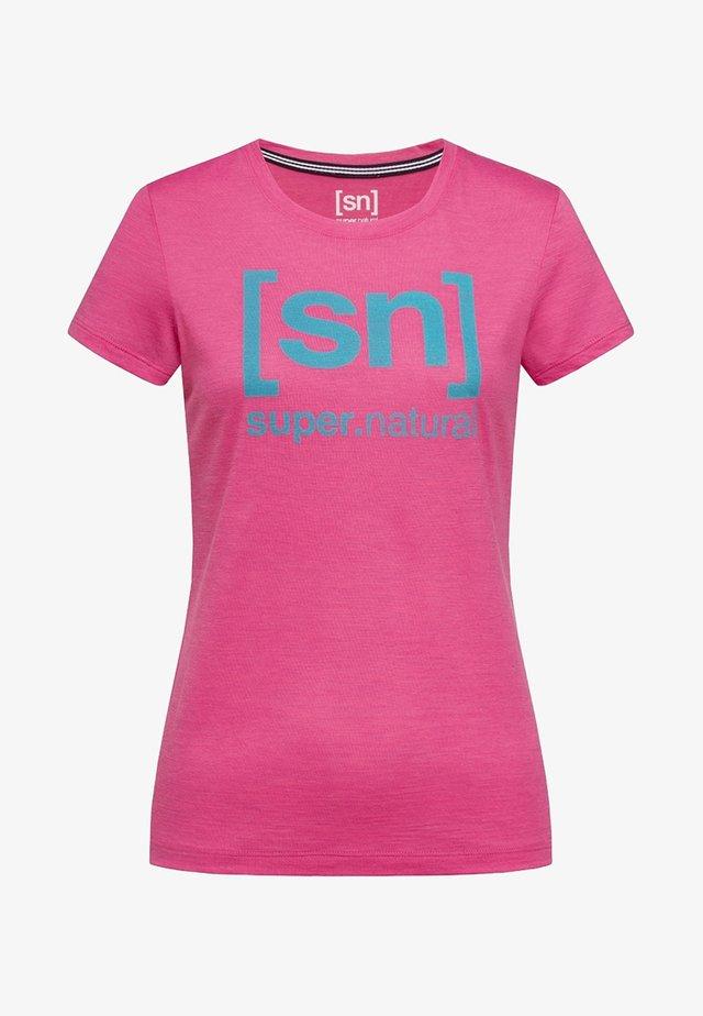 W ESSENTIAL  - Print T-shirt - pink