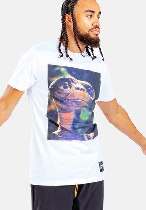 E.T  - T-shirt print - white